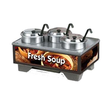 Vollrath 720201003 soup merchandiser, countertop