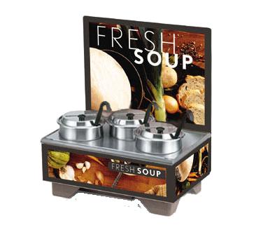 Vollrath 720201102 soup merchandiser, countertop