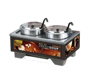 Vollrath 720202002 soup merchandiser, countertop