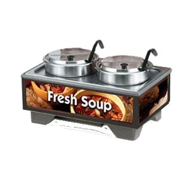 Vollrath 720202003 soup merchandiser, countertop
