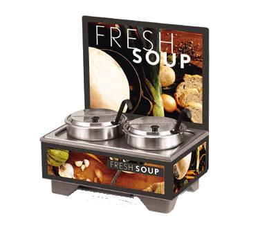 Vollrath 720202102 soup merchandiser, countertop
