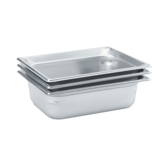 Vollrath 90212 steam table pan, stainless steel