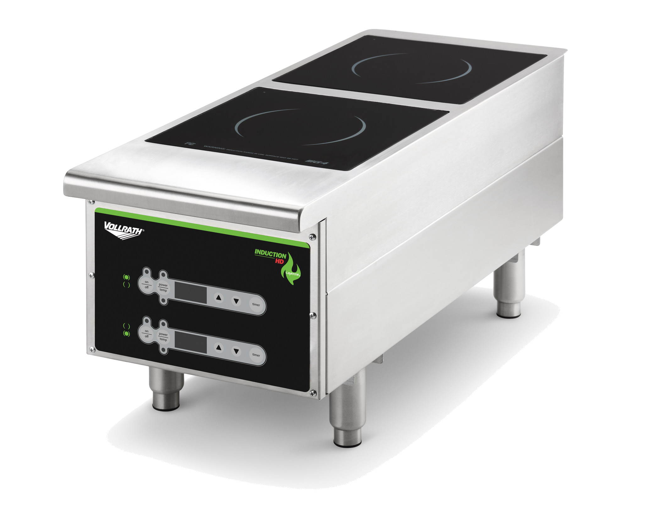 Vollrath 912HIDC induction range, countertop