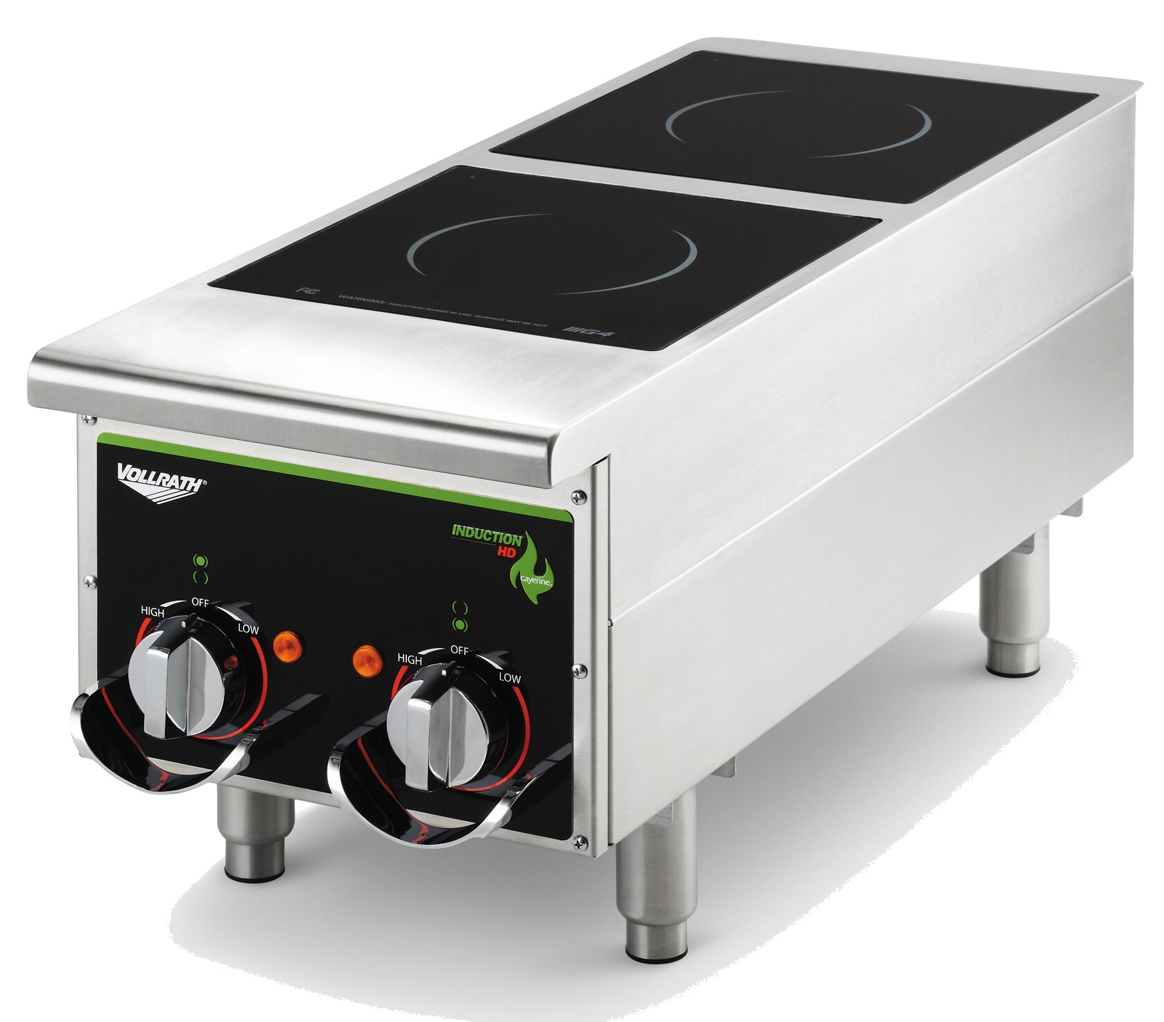 Vollrath 912HIMC induction range, countertop