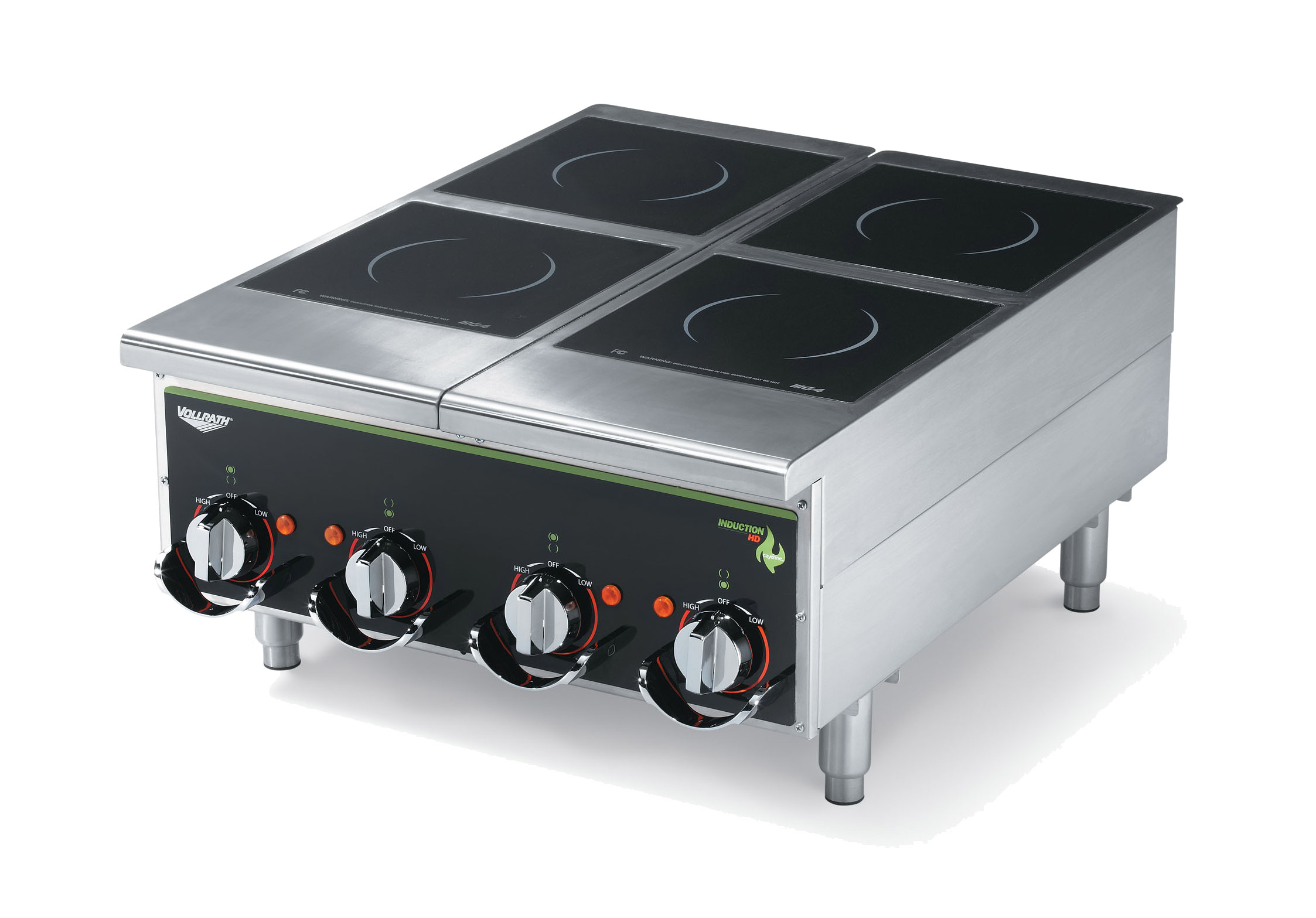 Vollrath 924HIMC induction range, countertop