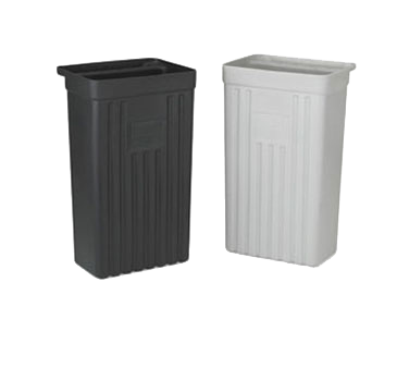 Vollrath 9728810 trash receptacle, for bus cart