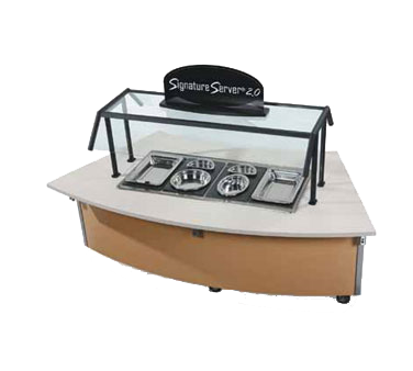 Vollrath 97367 serving counter, hot food, electric