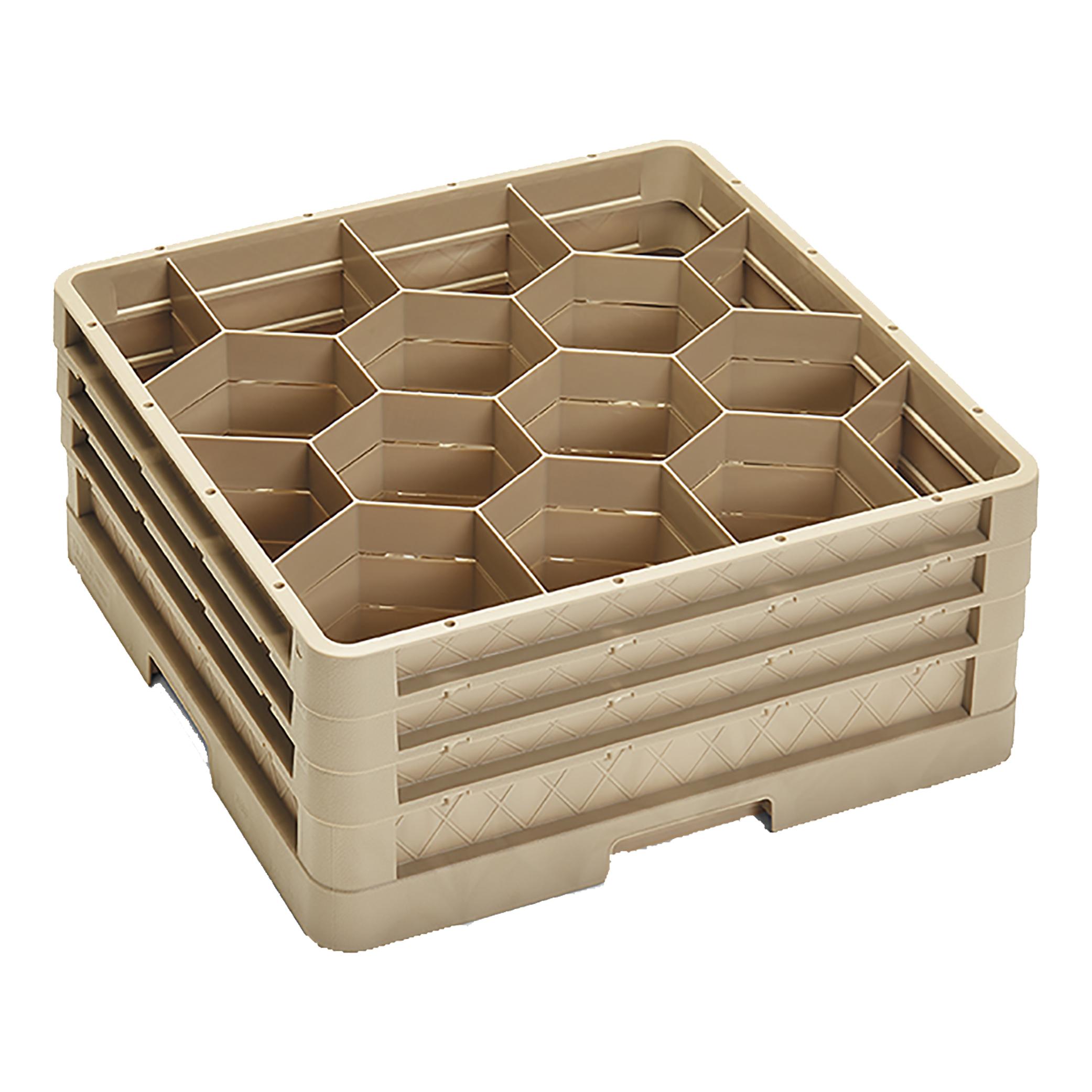 Vollrath CR18JJJ dishwasher rack, glass compartment