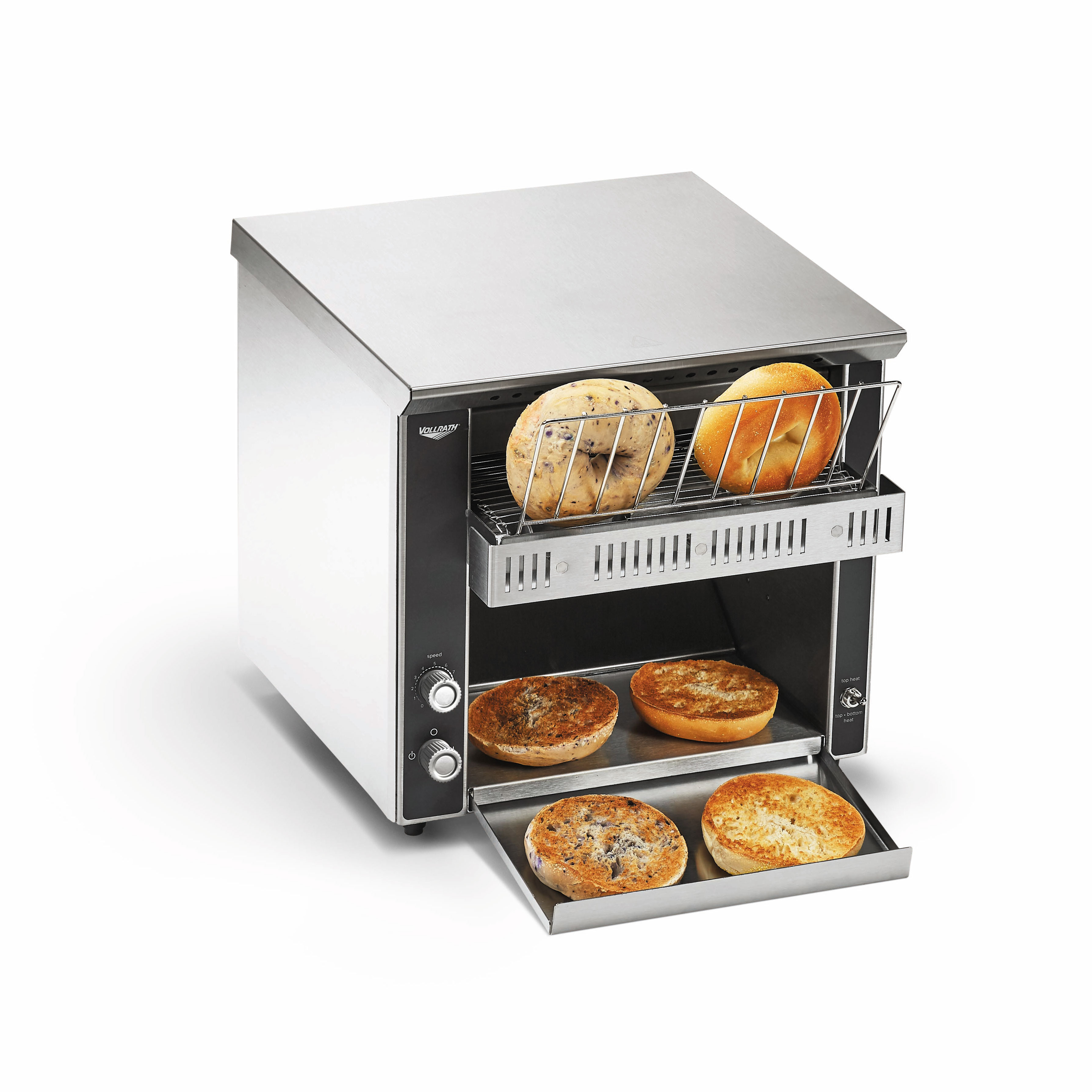 Vollrath CT2BH-120400 toaster, conveyor type
