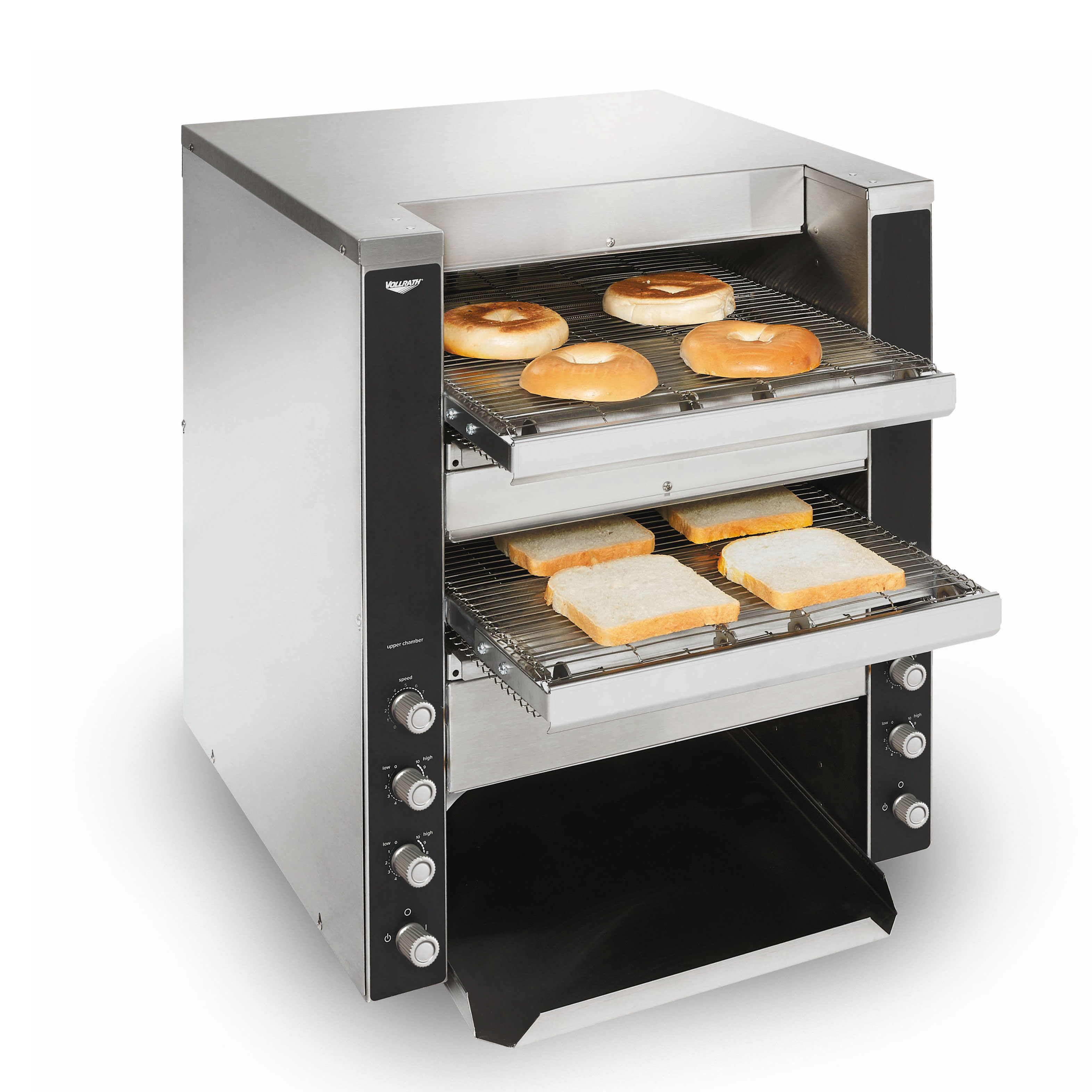 Vollrath CT4-220DUAL toaster, conveyor type