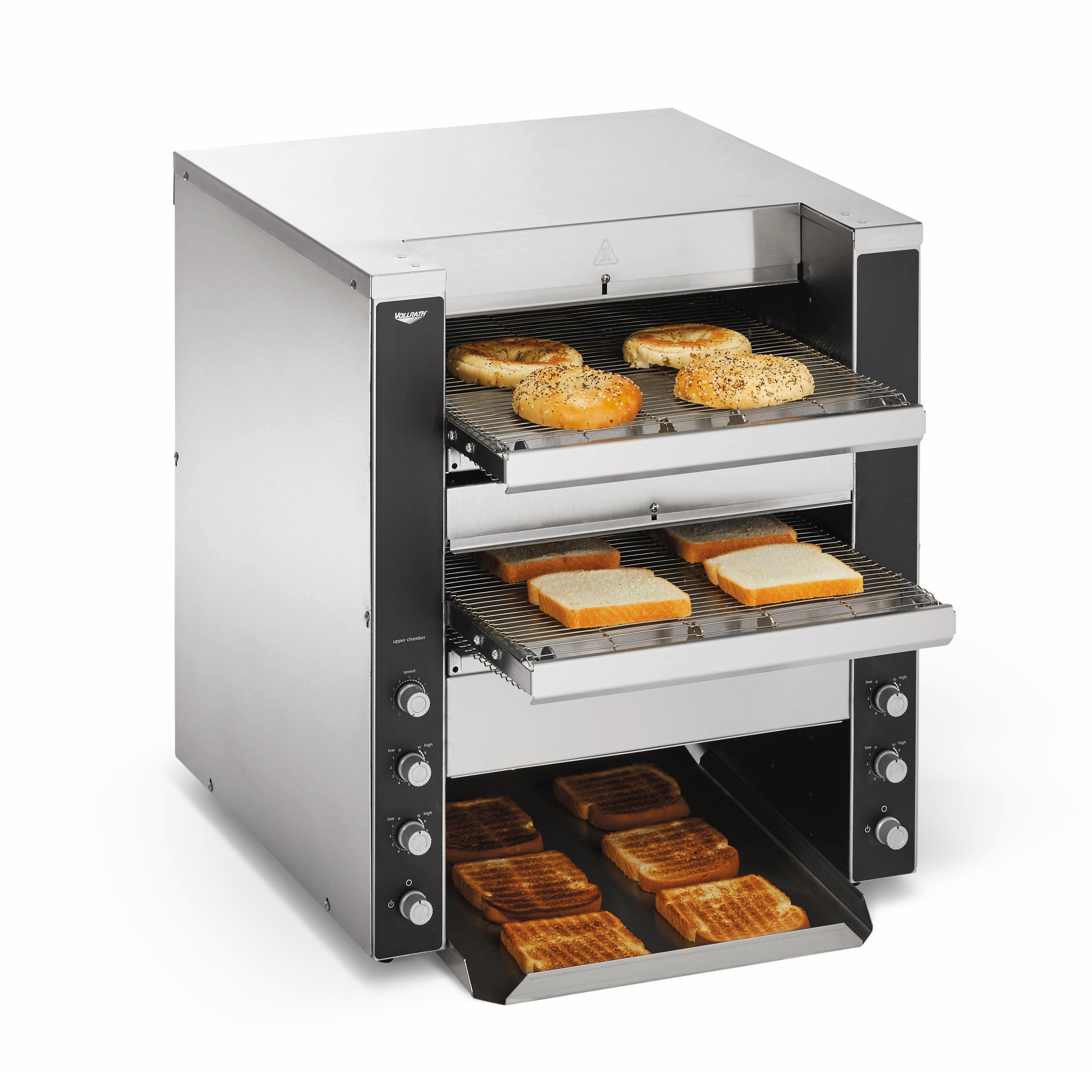 Vollrath CVT4-220DUAL toaster, conveyor type