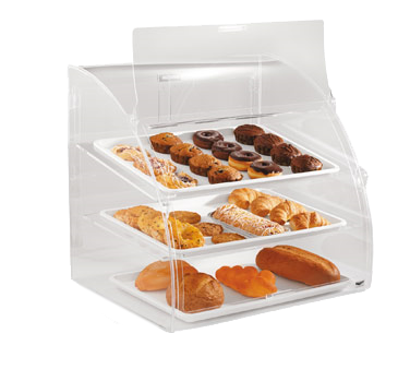 Vollrath ELBC-2 display case, pastry, countertop