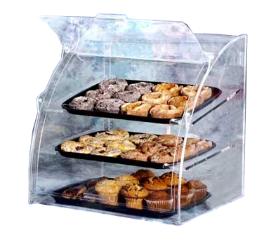 Vollrath EMBC-2 display case, pastry, countertop