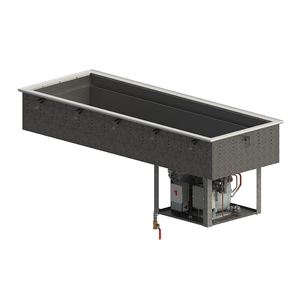 Vollrath FC-4C-06120-R cold food well unit, drop-in, refrigerated