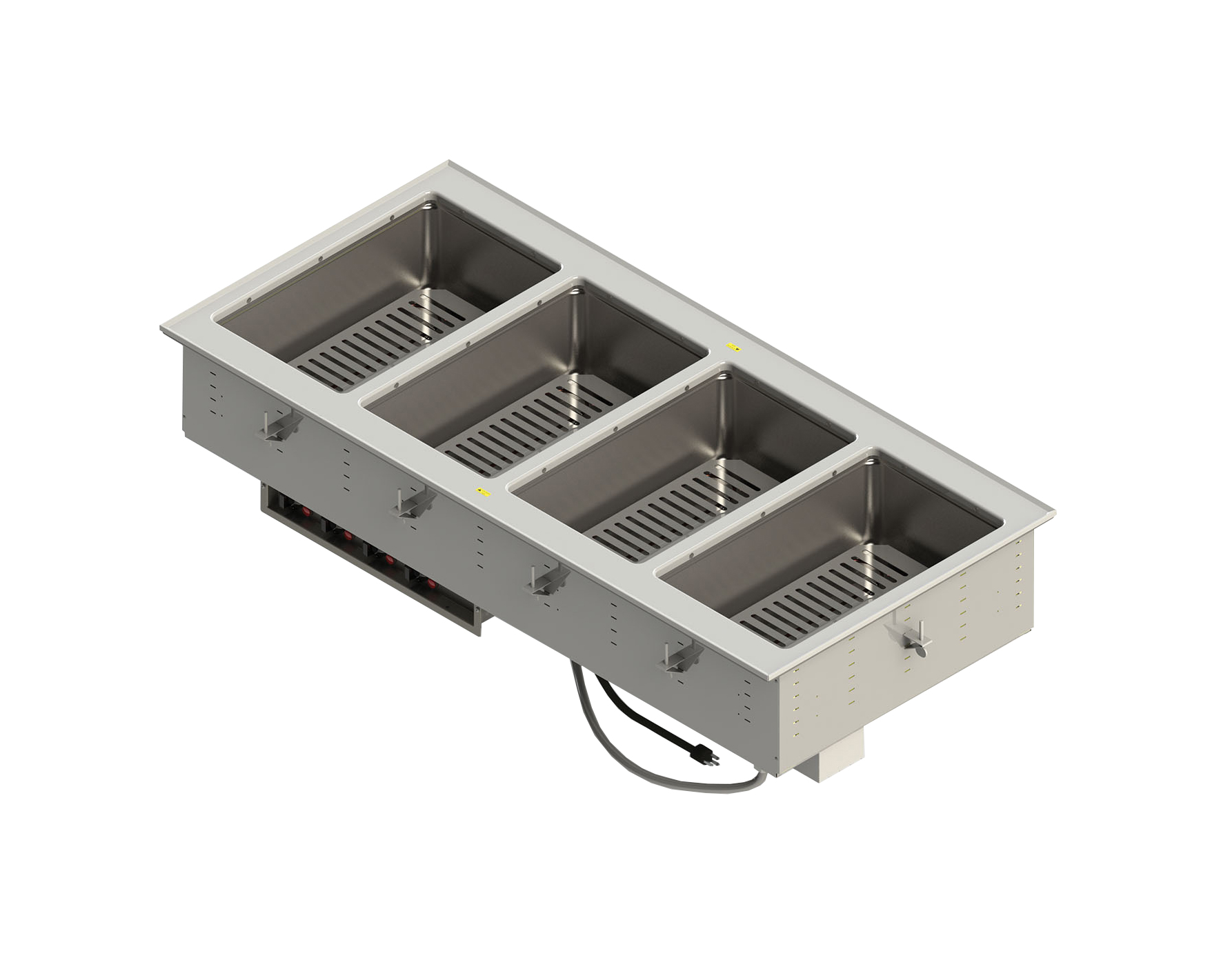 Vollrath FC-4DH-03208-T hot food well unit, drop-in, electric