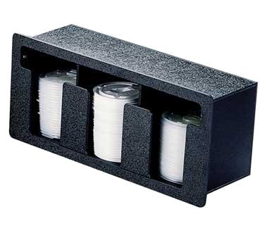 Vollrath FML-3 lid dispenser, in-counter