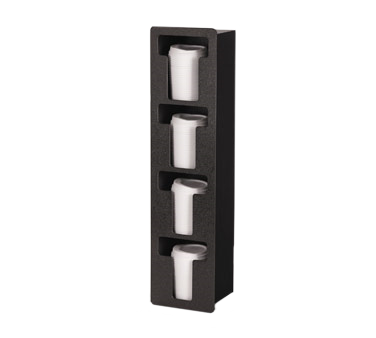 Vollrath FML-4V lid dispenser, in-counter