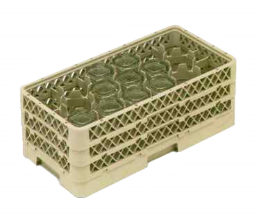 Vollrath HR1D1DDD dishwasher rack, glass compartment