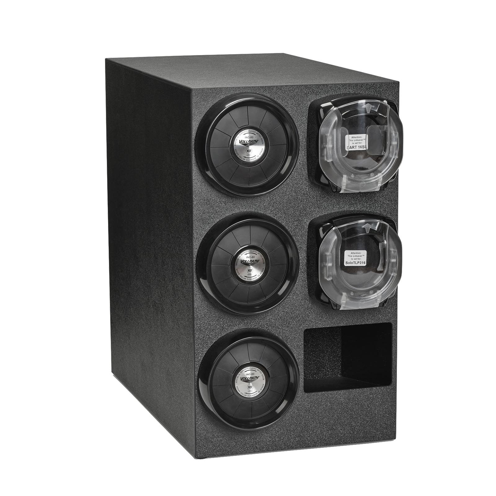 Vollrath K58804 lid dispenser, countertop
