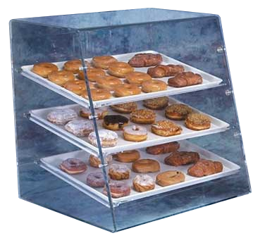 Vollrath LBC display case, pastry, countertop