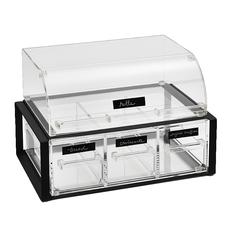 Vollrath NBCBB33F-06 display case, non-refrigerated countertop
