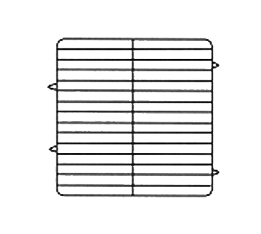 Vollrath PM3008-4 dishwasher rack, plates