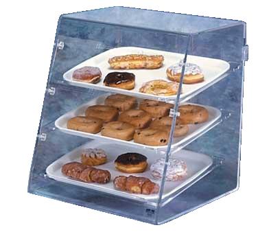 Vollrath SBC display case, pastry, countertop