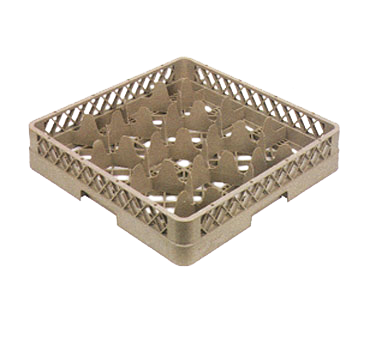 Vollrath TR18A dishwasher rack, glass compartment