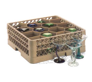 Vollrath TR18JJJ dishwasher rack, glass compartment