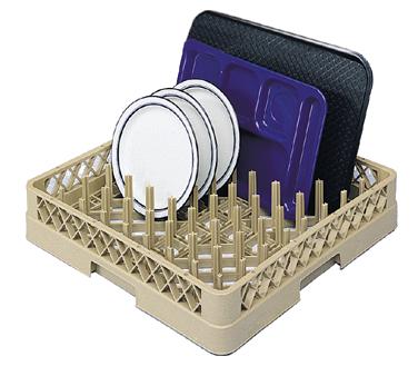 Vollrath TR3 dishwasher rack, peg / combination