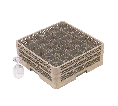 Vollrath TR6BBBB dishwasher rack, glass compartment