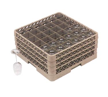 TR7CA Vollrath dishwasher rack, glass compartment