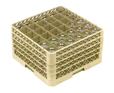 Vollrath TR7CCCC dishwasher rack, glass compartment