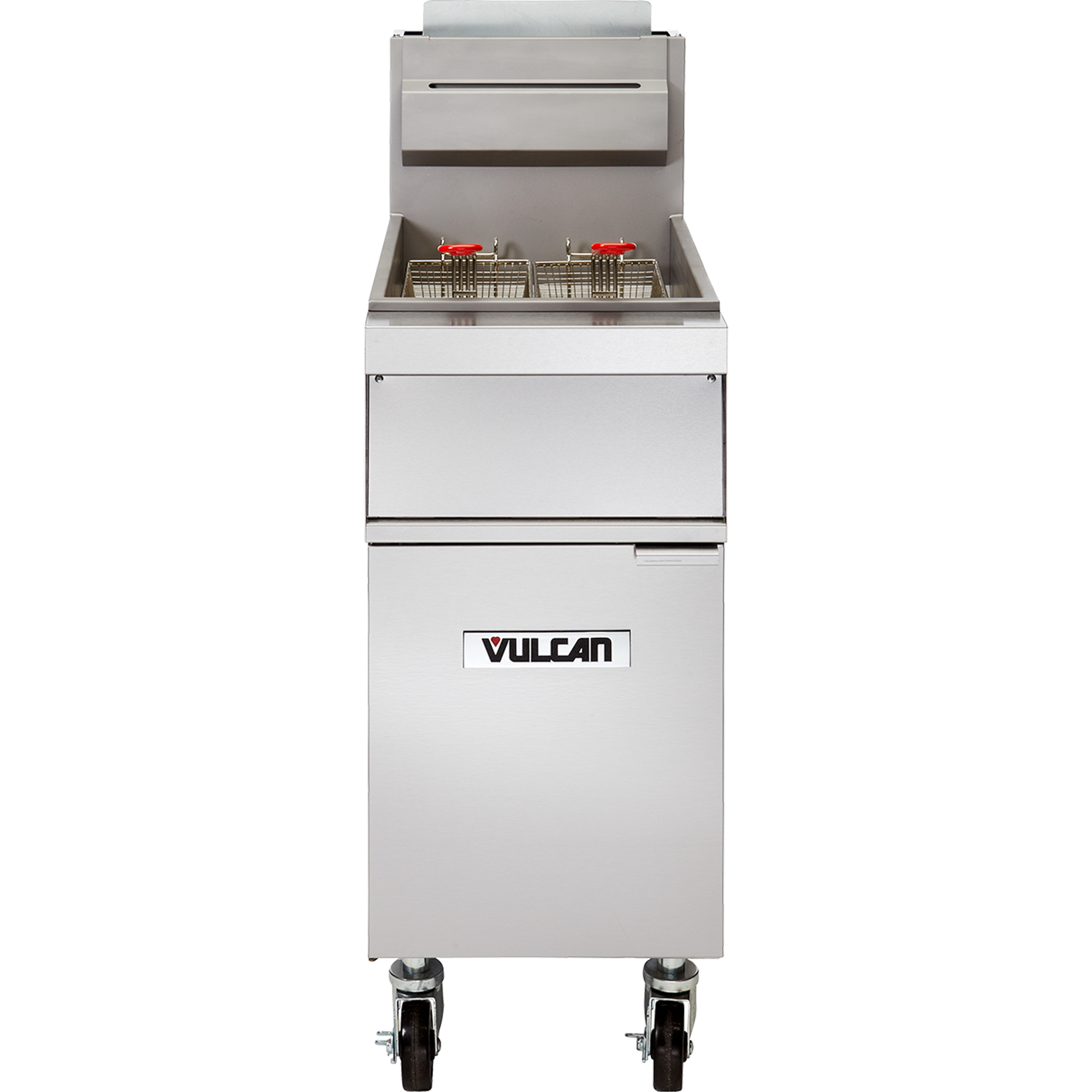 Vulcan 1GR45M fryer, gas, floor model, full pot