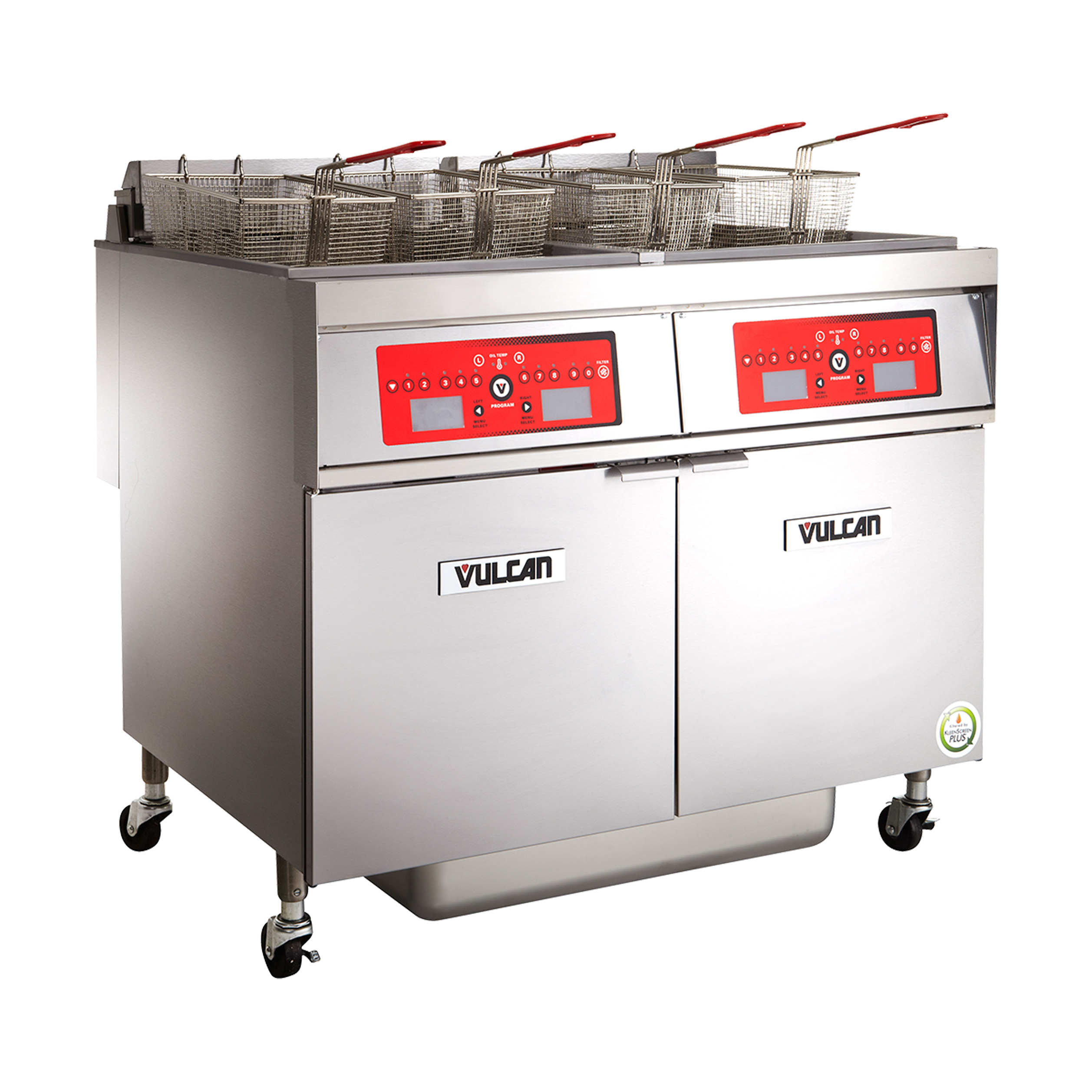 Vulcan 2ER50CF fryer, electric, multiple battery