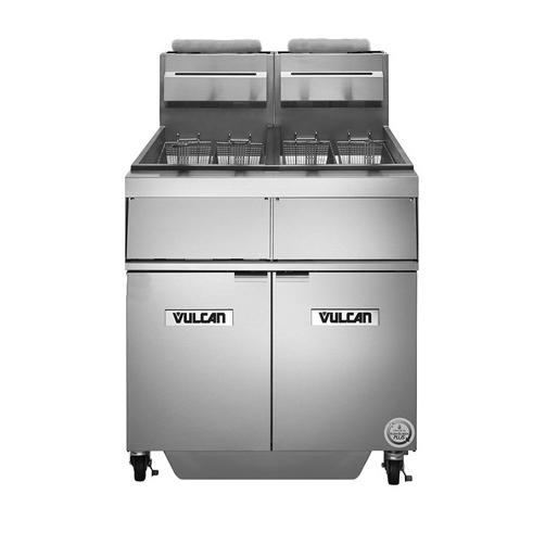 Vulcan 2GR45AF fryer, gas, multiple battery
