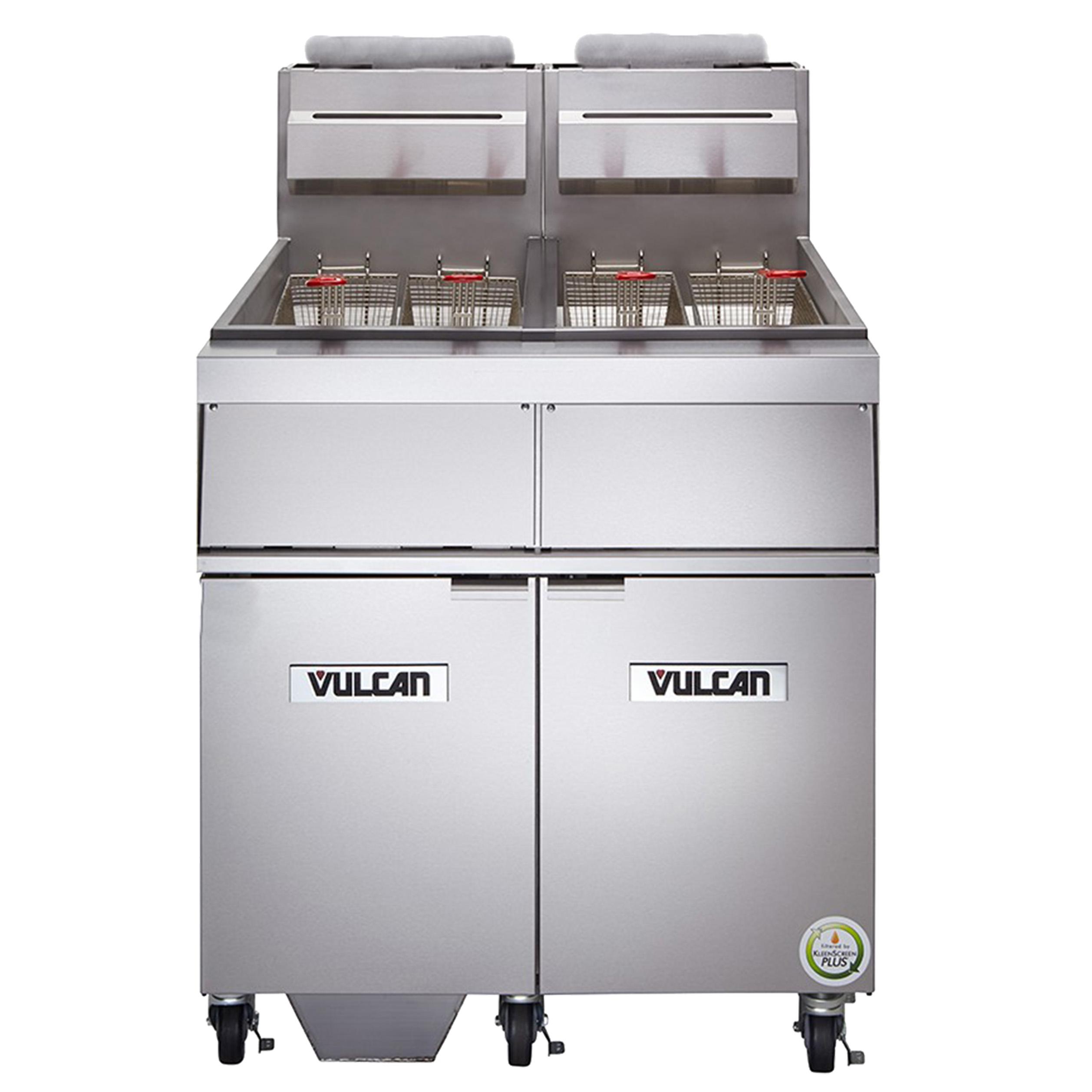 Vulcan 3GR65MF fryer, gas, multiple battery