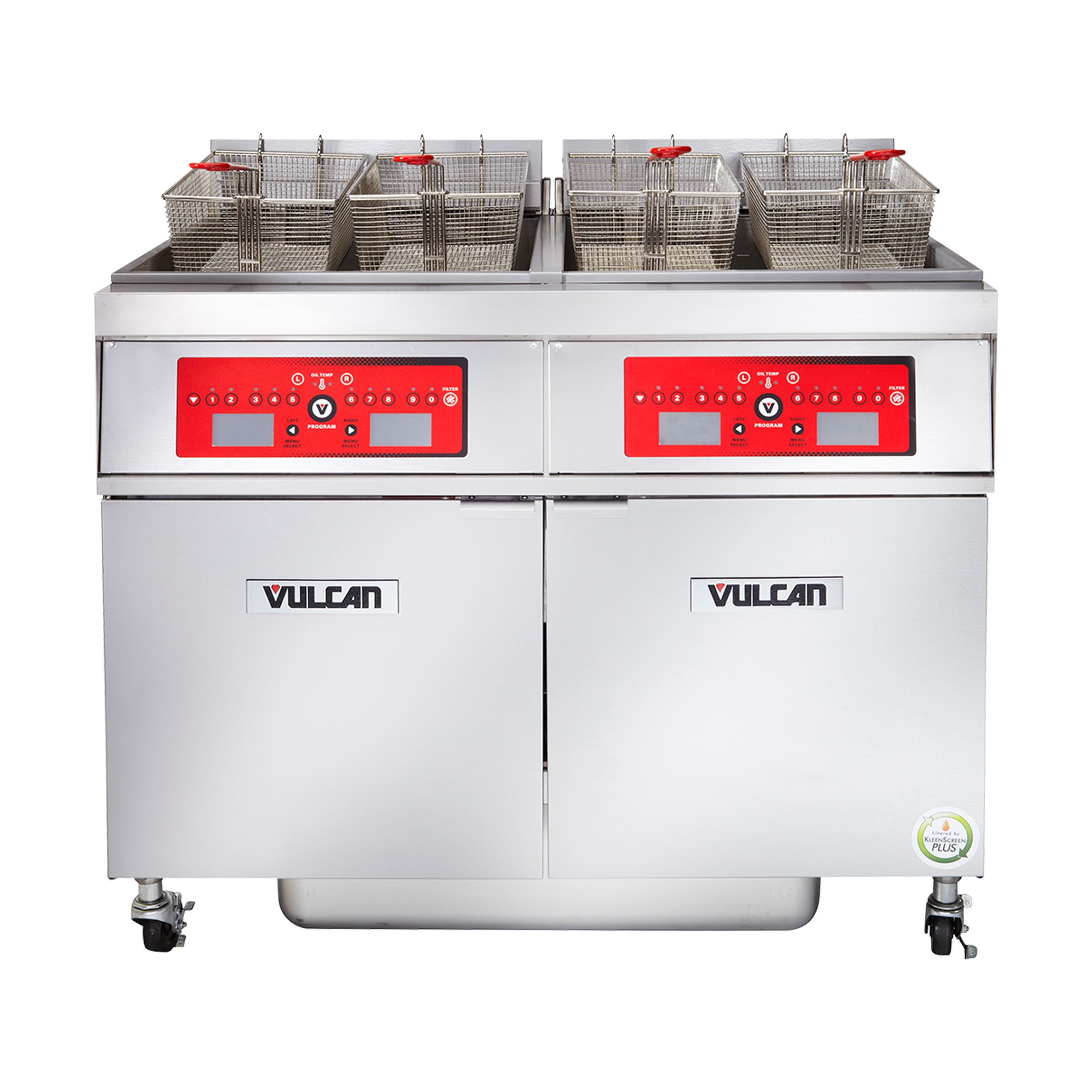 Vulcan 4ER50CF fryer, electric, multiple battery