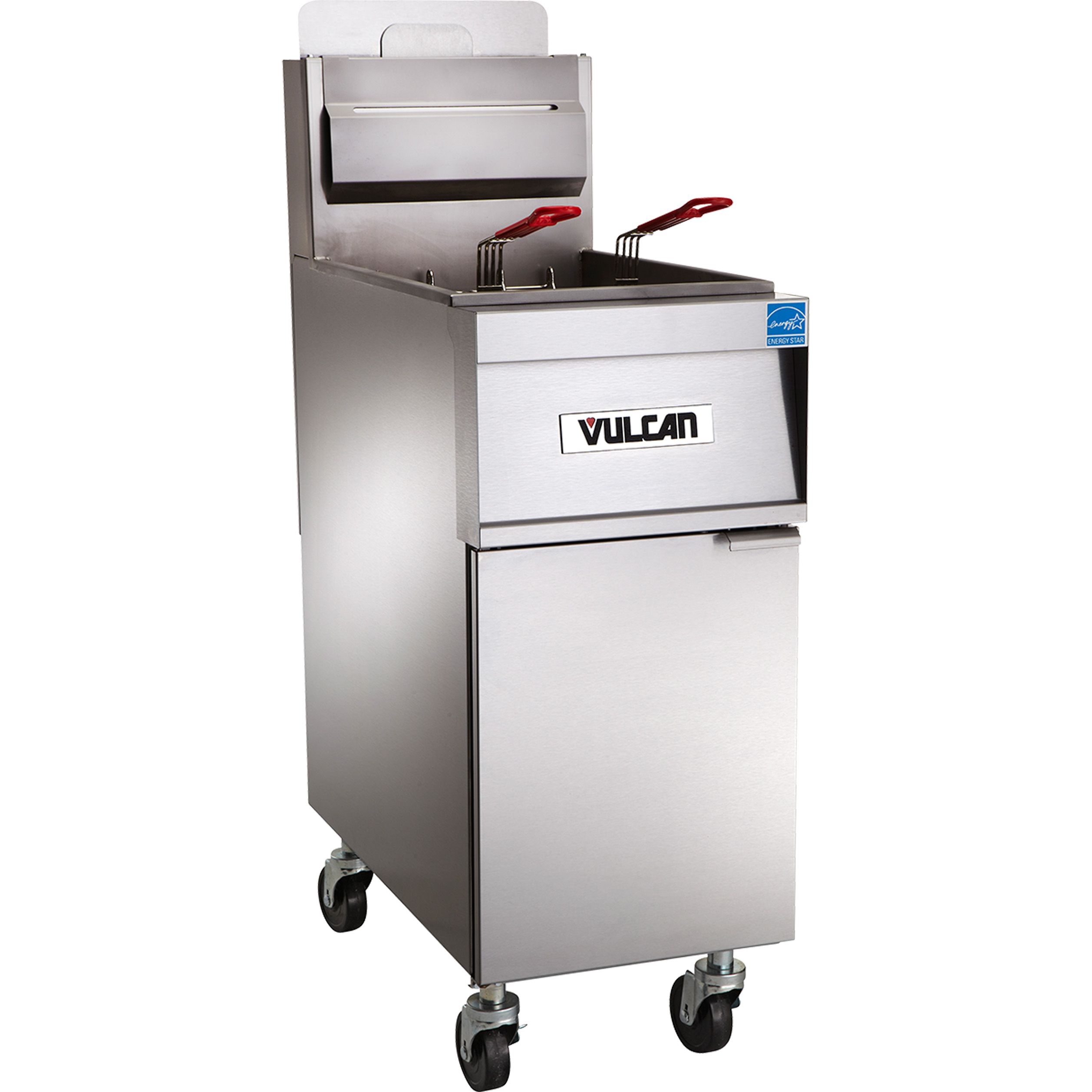 Vulcan 4TR65DF fryer, gas, multiple battery