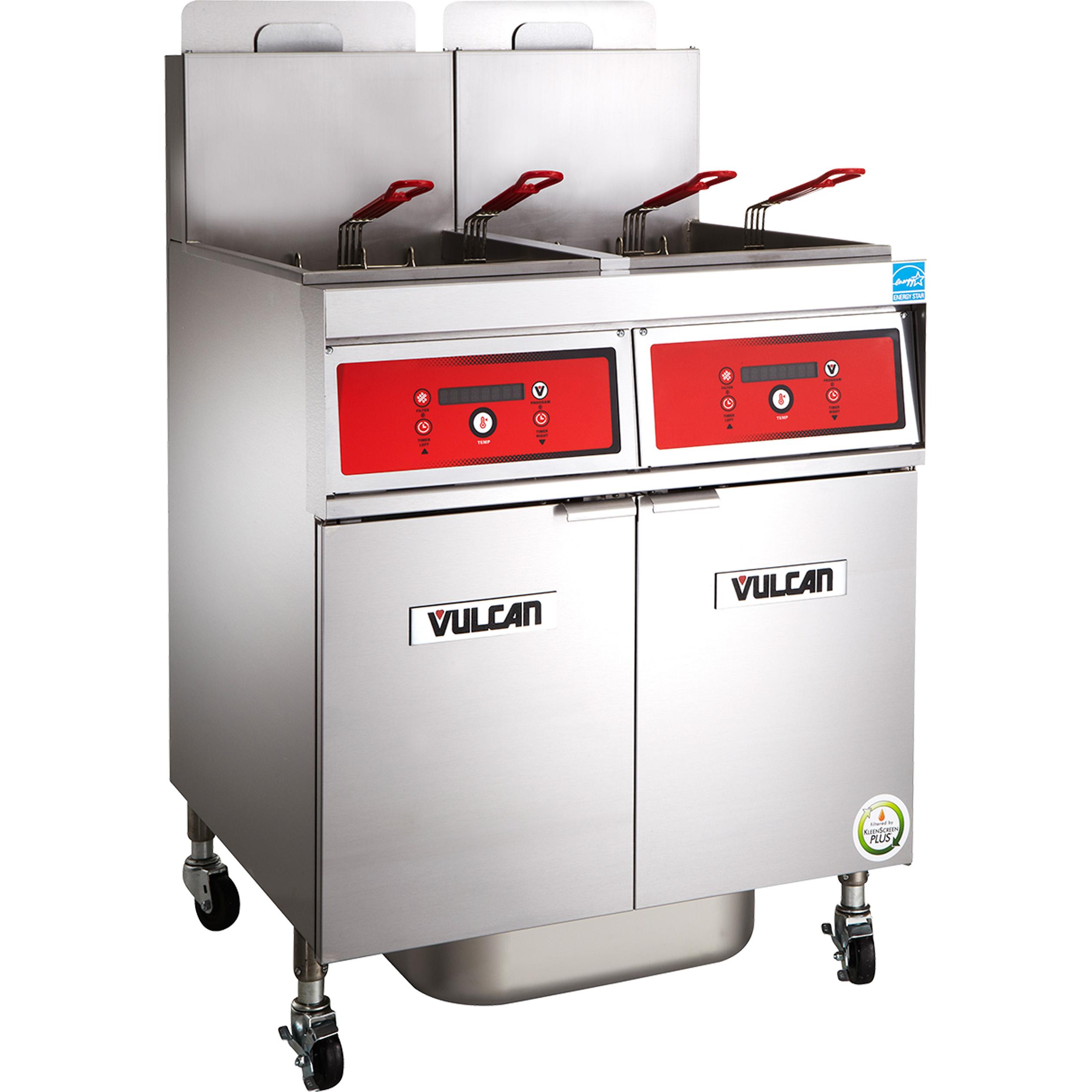 Vulcan 4VK65CF fryer, gas, multiple battery