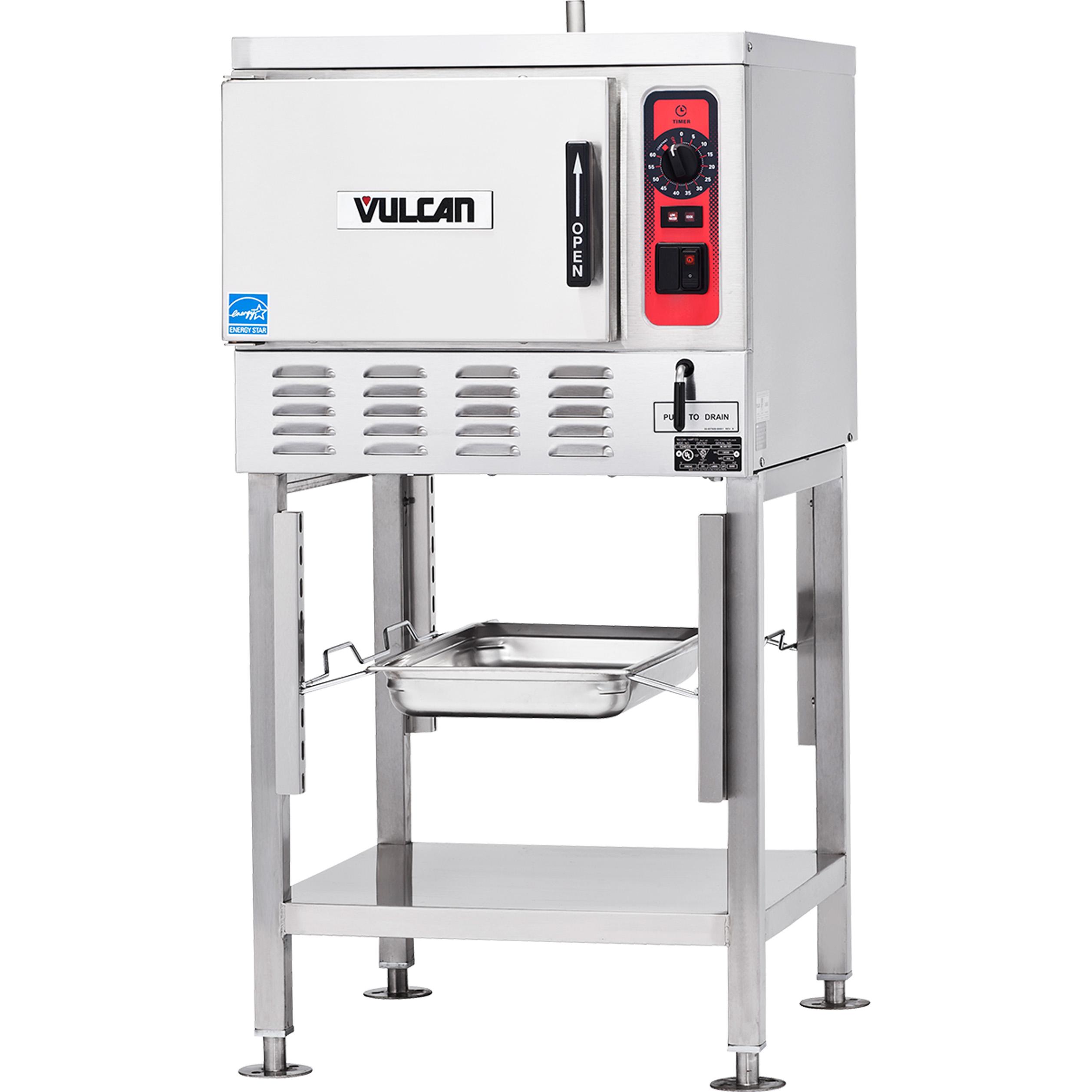 Vulcan C24EO3 steamer, convection, boilerless, countertop