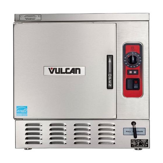 Vulcan C24EO3AF steamer, convection, boilerless, countertop