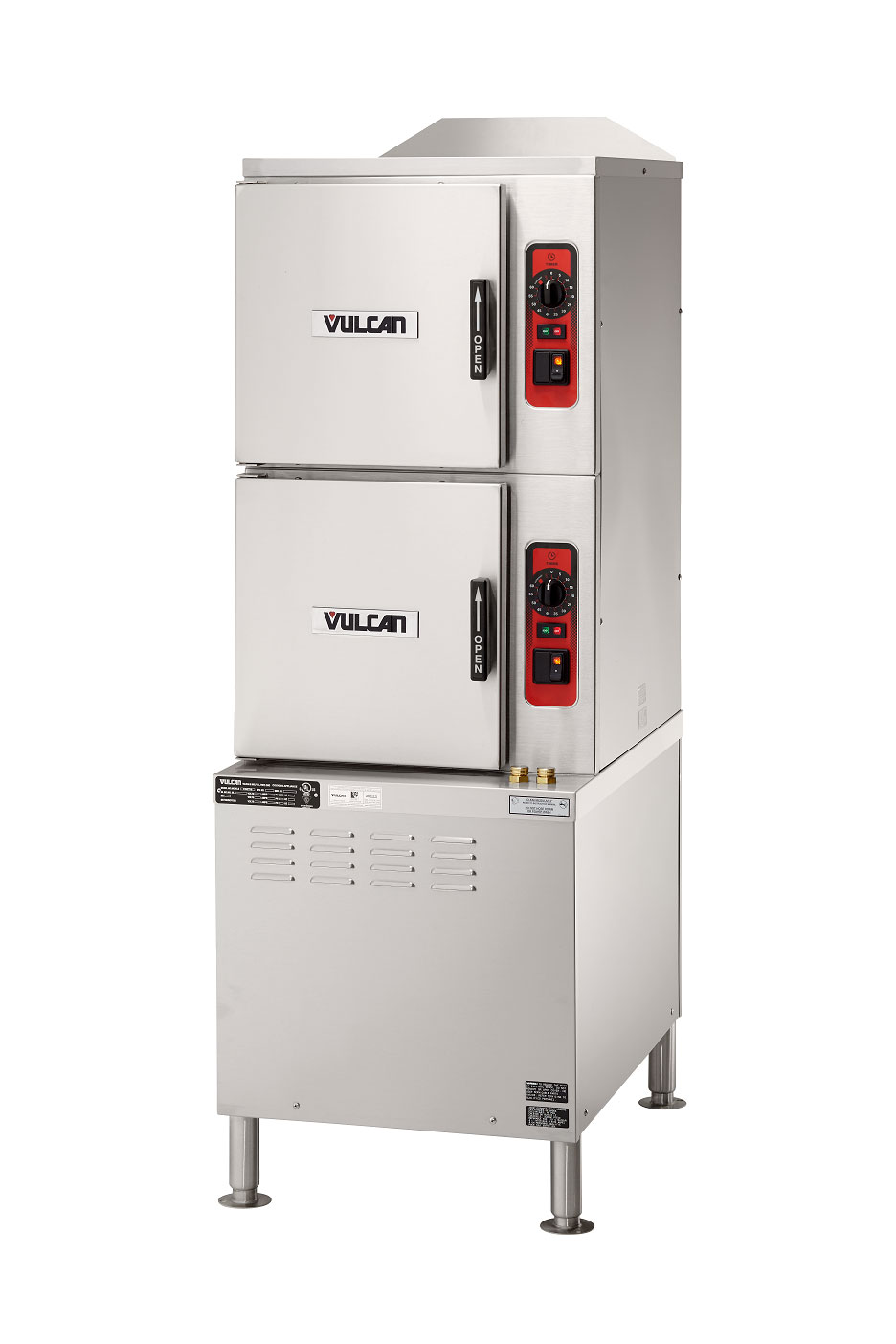 Vulcan C24ET10 steamer, convection, electric, floor model
