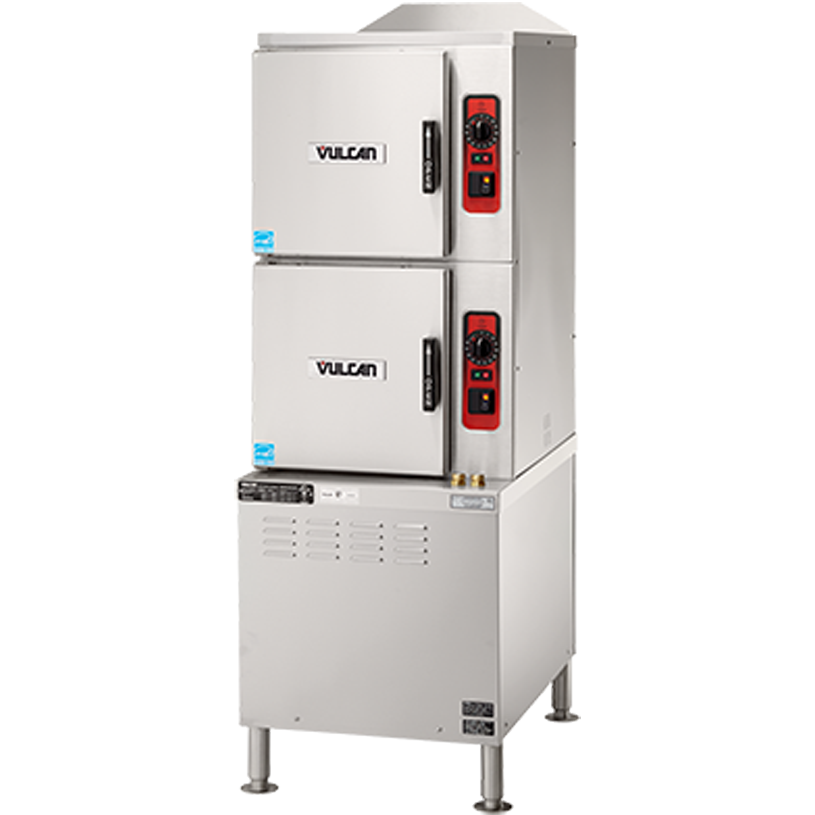 Vulcan C24ET10-LWE steamer, convection, electric, floor model