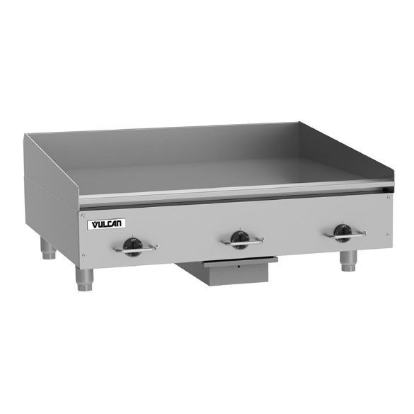 Vulcan HEG36E griddle, electric, countertop