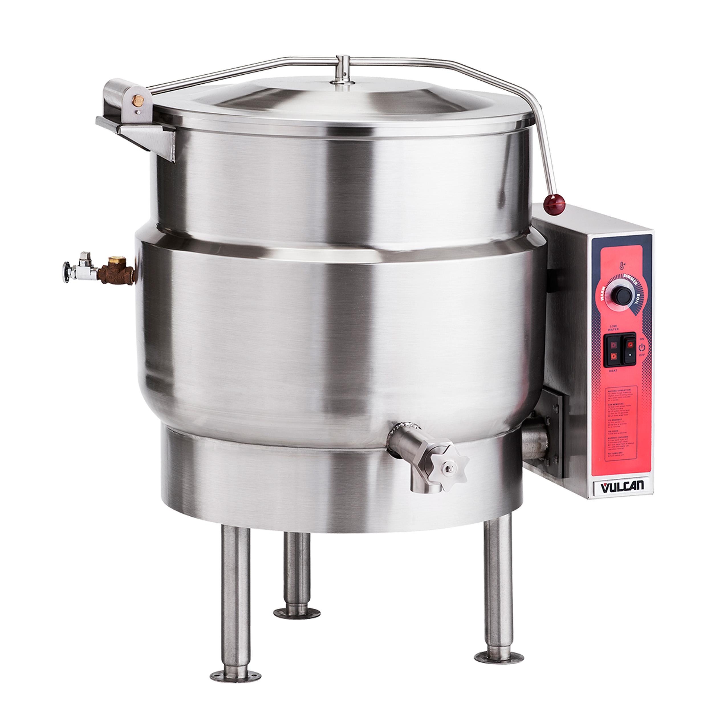 Vulcan K20EL kettle, electric, stationary