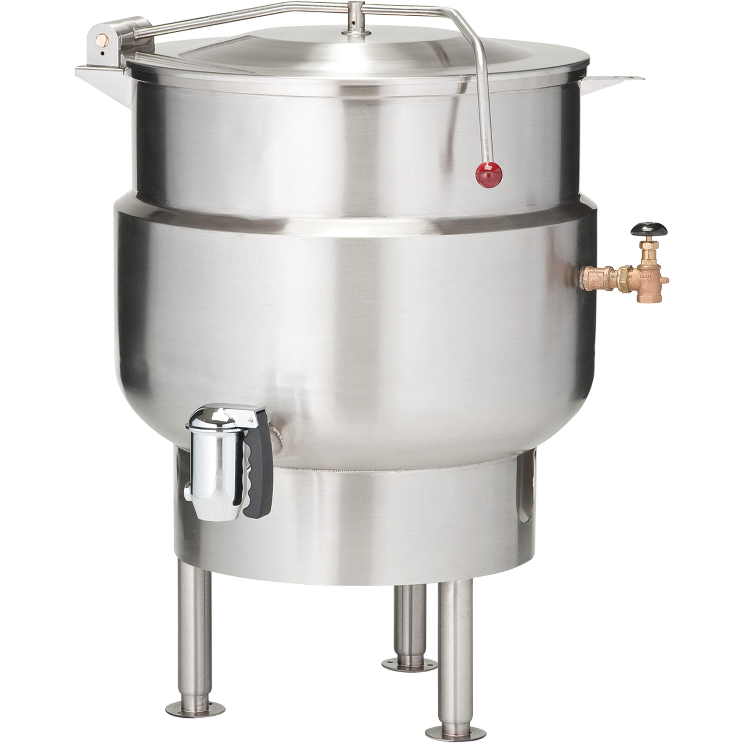 Vulcan K40DL kettle, direct steam, stationary