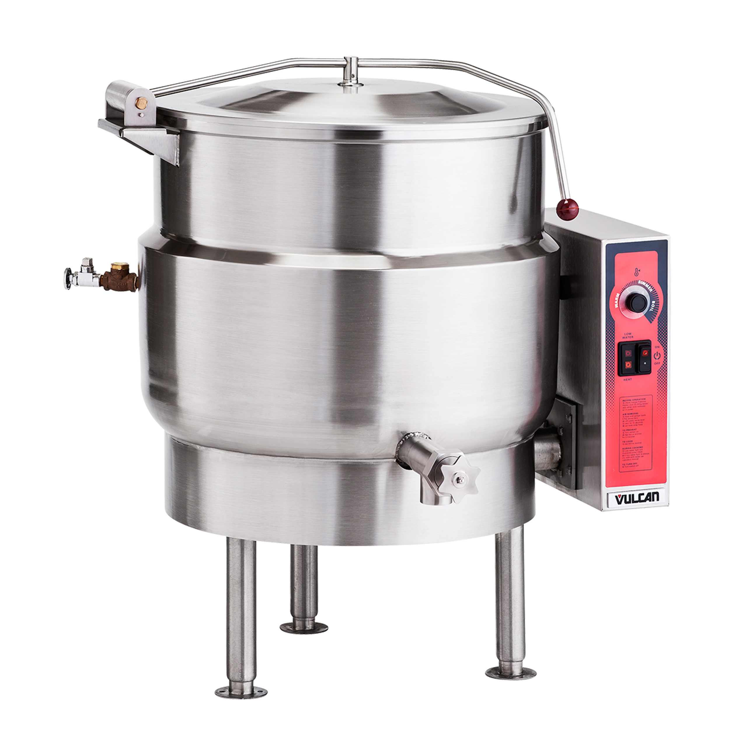 Vulcan K40ELT kettle, electric, tilting