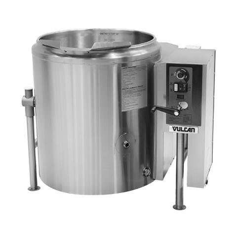 Vulcan K40GLT kettle, gas, tilting