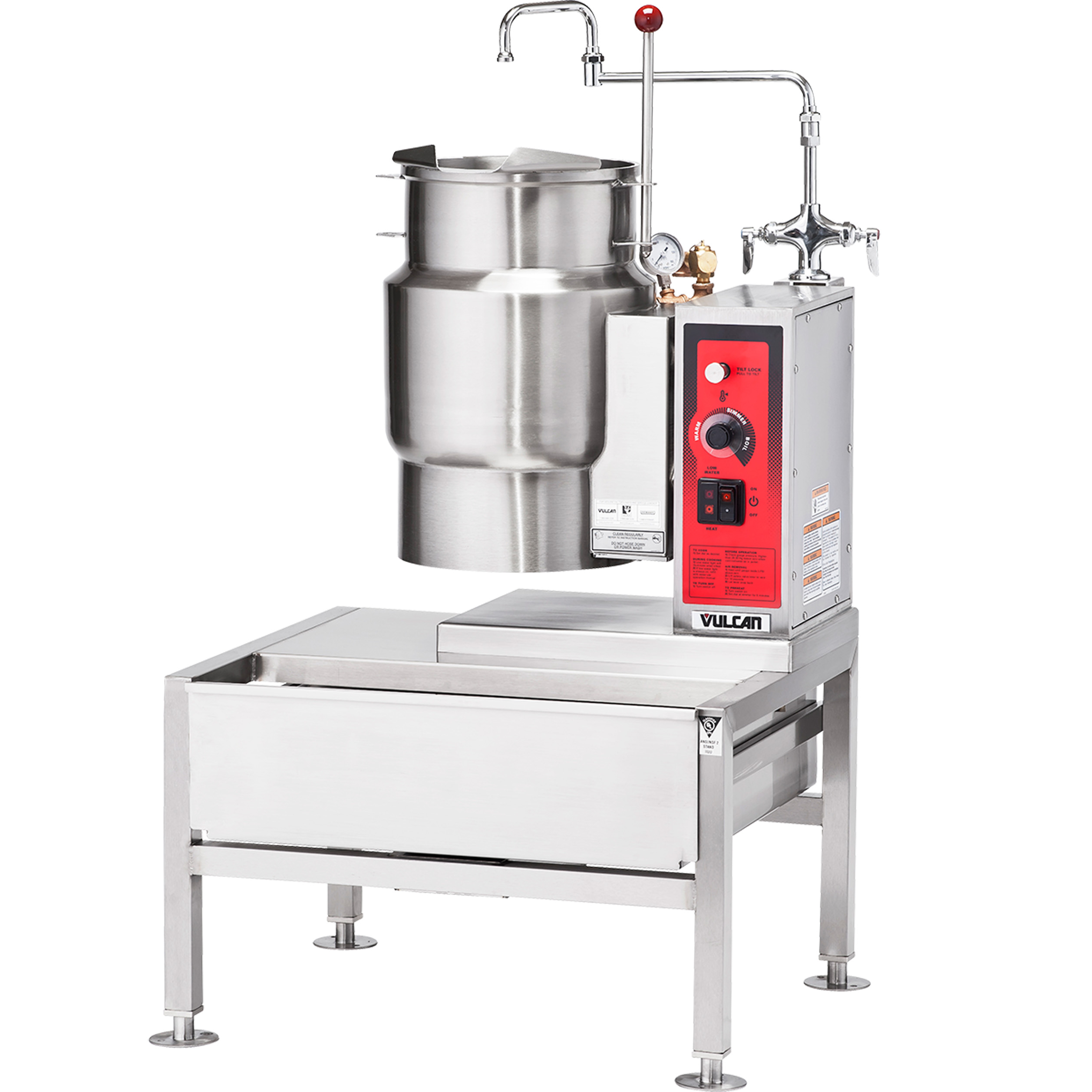 Vulcan K6ETT kettle, electric, countertop